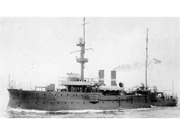 Как маленький русский корабль испугал огромную эскадру Германии
