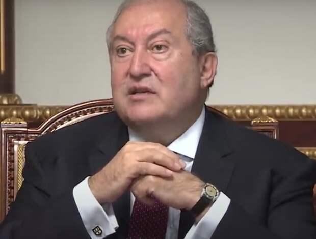 У президента Армении возникли осложнения после коронавируса