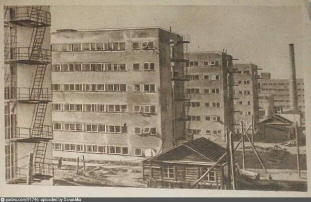 Строительство студенческого городка. 1930-1931 / Фото: pastvu.com
