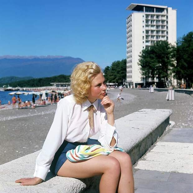 18 фотографий девушек из СССР, на которых видна неподдельная красота