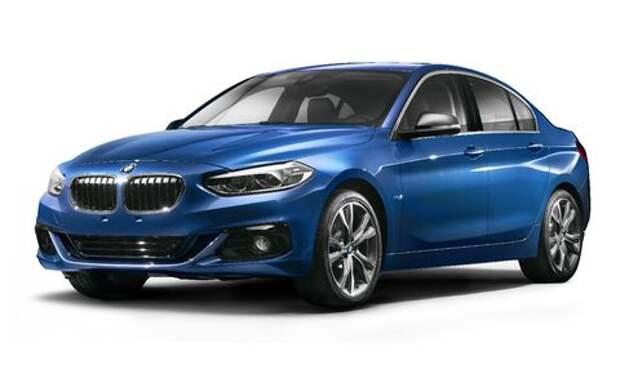 Седан BMW 1-й серии: ни слова о приводе