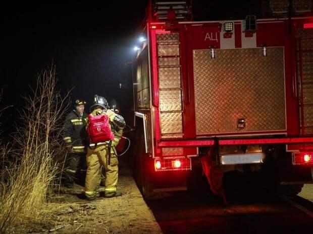 Возгорание нежилого дома ликвидировано огнеборцами в Шилкинском районе