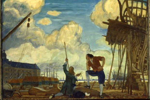 Почему Новая Голландия не стала первым военным портом России
