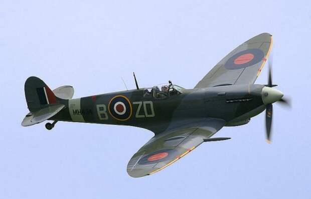 Британский Spitfire./фото: warhistoryonline.com