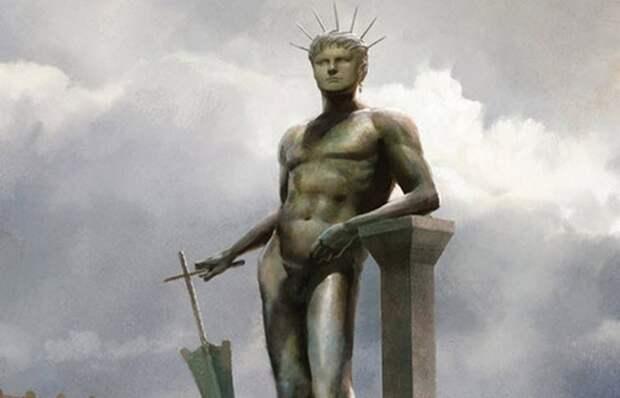 Статуя Нерона.