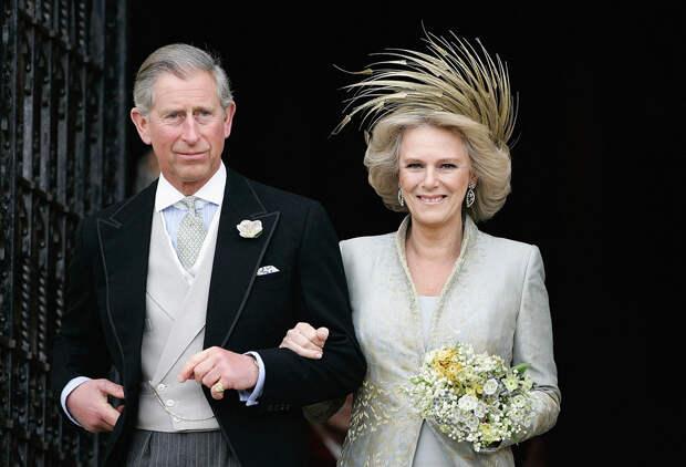 Принц Чарльз и Камилла Паркер-Боулз свадьба