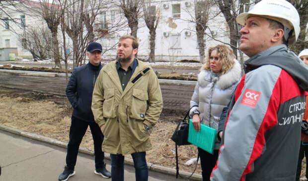 Глава минтранса Хабаровского края проверил качество ремонта дорог в городе Юности