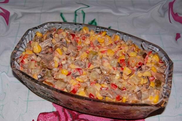 Этот салат нравится абсолютно всем без исключения — нежный салат «Екатерина»