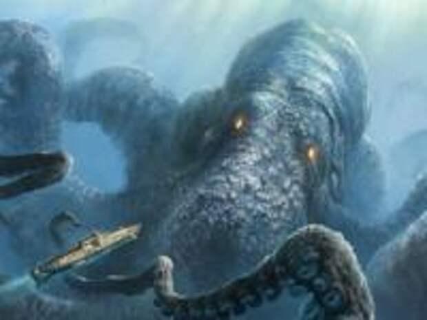 Древний кракен: новые открытия о легендарном монстре