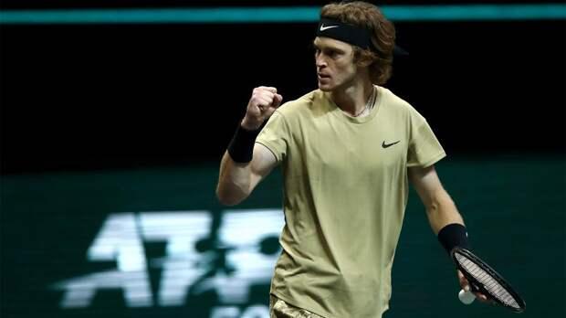 Рублев стал победителем турнира в Роттердаме, завоевав 6-й в карьере титул ATP