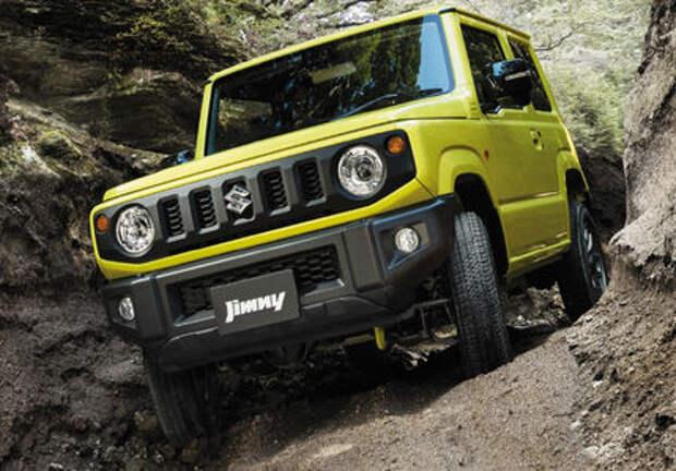 Suzuki все же привезет новый Jimny в Россию