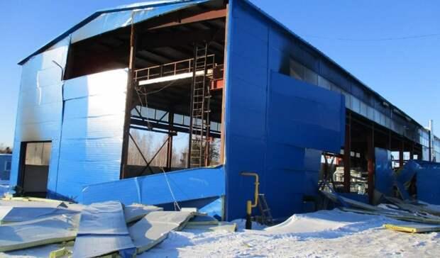 Отвзрыва баллона сгазом назаводе вПолевском погиб рабочий