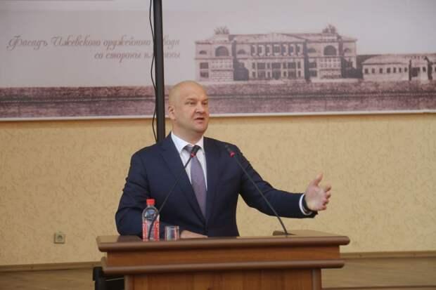 Зампредседателя Гордумы Ижевска сложил полномочия