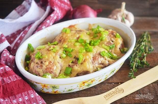 Зразы с картофелем и омлетом