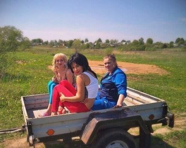 Веселая фото-подборка сельского гламура