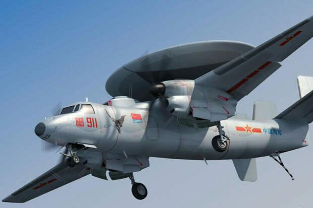 Новый палубный самолет ВМС Китая не может взлетать с авианосцев