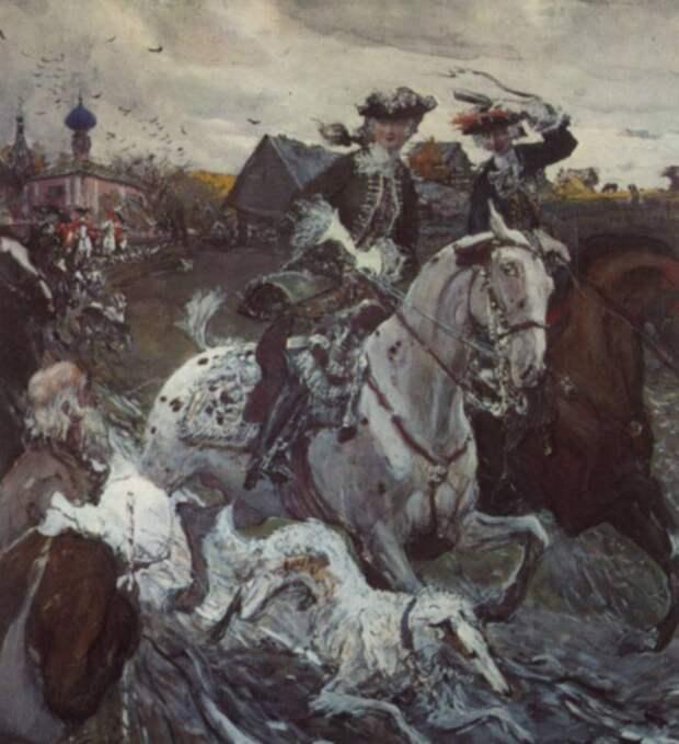 Россия на пути к эпохе дворцовых переворотов. Нелюбимый внук Петра I