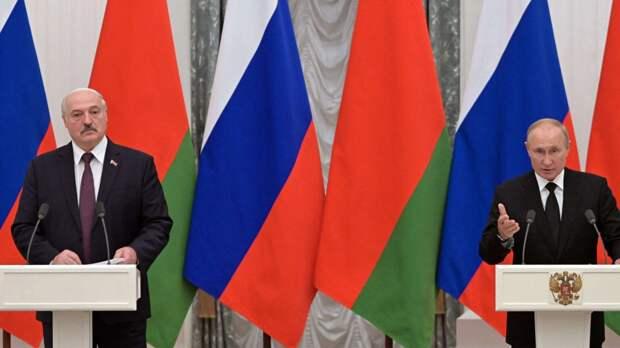 Встреча президентов Белоруссии и России