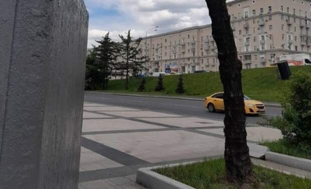 Жуткую инсталляцию увидели жители района у метро «Войковская»