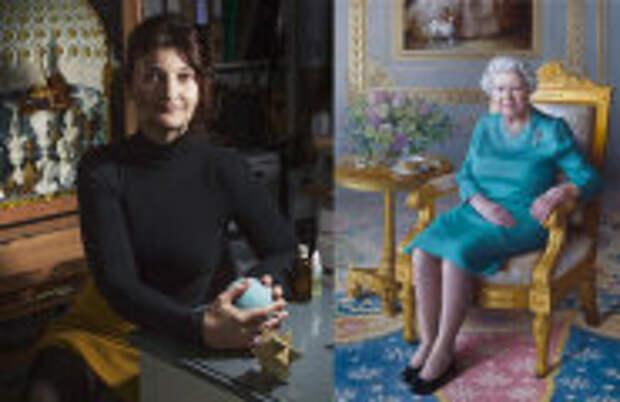 Современное искусство: Портрет Елизаветы II в самоизоляции, богиня-мать и волшебные миры: Магический реализм Мириам Эскофет