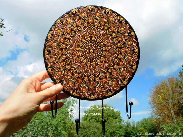 Расписываем панно в технике Dot-art без использования дотсов