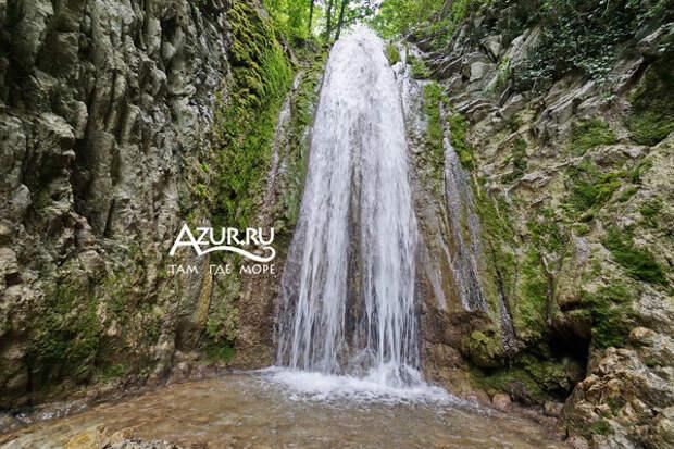 Водопады Мельничной щели