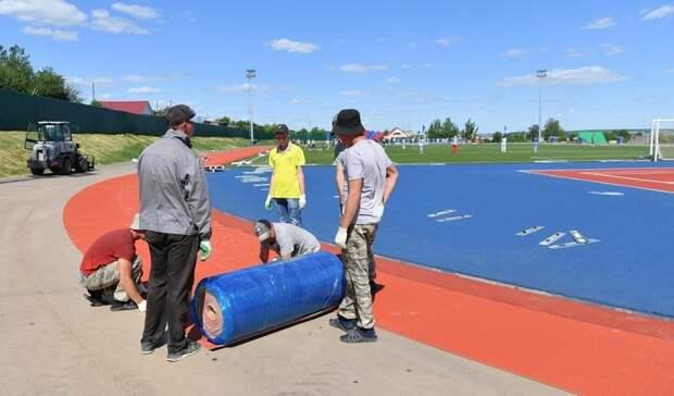 В Удмуртии на 90% готовы стадион и ФОК к сельским спортивным играм