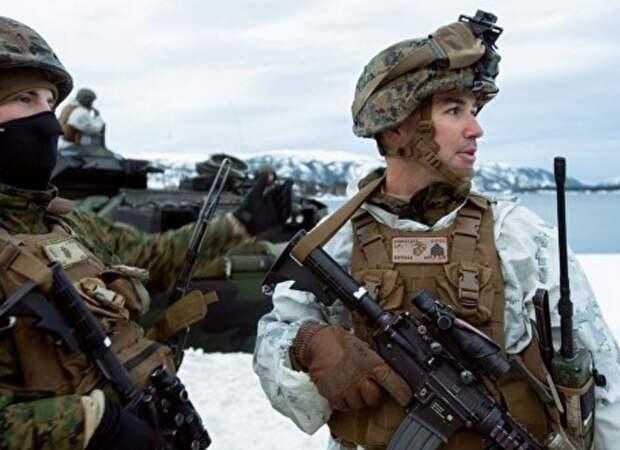 СМИ: американские морпехи замерзли на учениях у российских границ