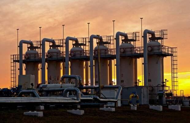 ПХГ запасы газа