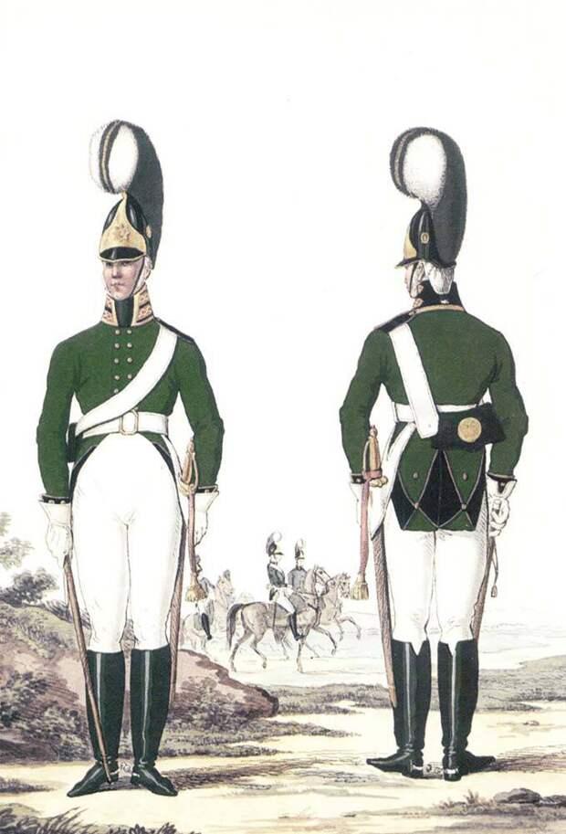 Военные моды Аустерлица: российская императорская армия