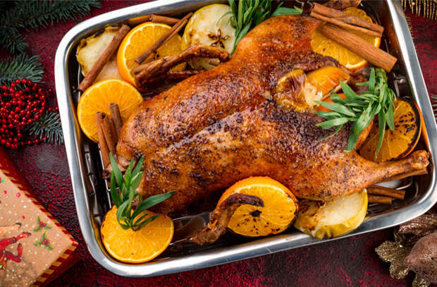 Новогодний стол: блюда от профи