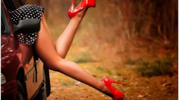 Ножки девушек (60 фото)