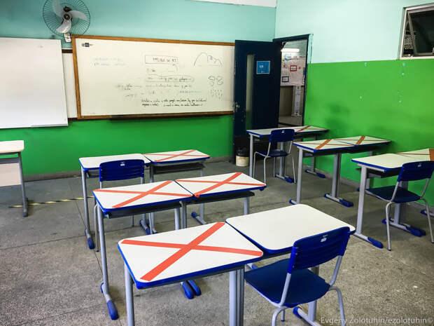 Как выглядит школа в криминальной фавеле на окраине Рио
