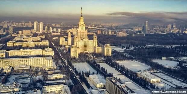 Собянин объявил о начале строительства ИНТЦ МГУ «Воробьевы горы»/Фото: М. Денисов mos.ru