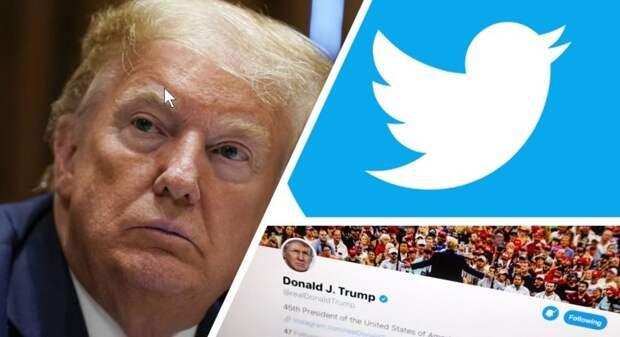 Twitter и YouTube, наплевав на законы США, блокировали аккаунты Трампа: комментарий Пушкова