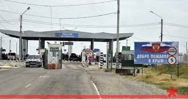 Крымскую границу в районе Джанкоя оборудуют автостоянками