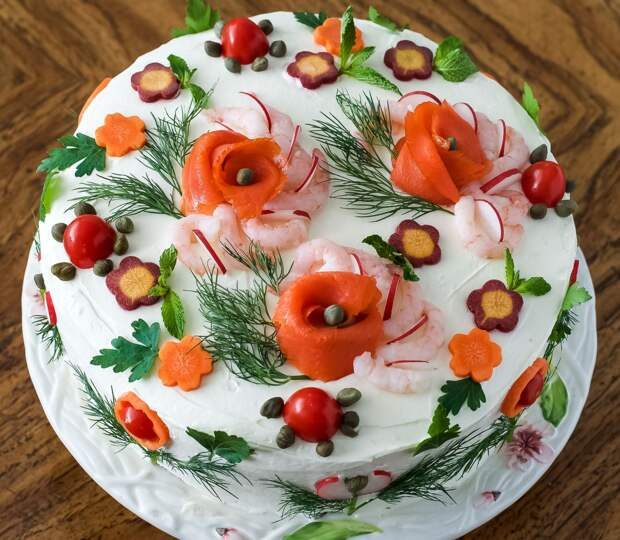 25 вдохновляющих идей для украшения новогоднего ″Оливье″