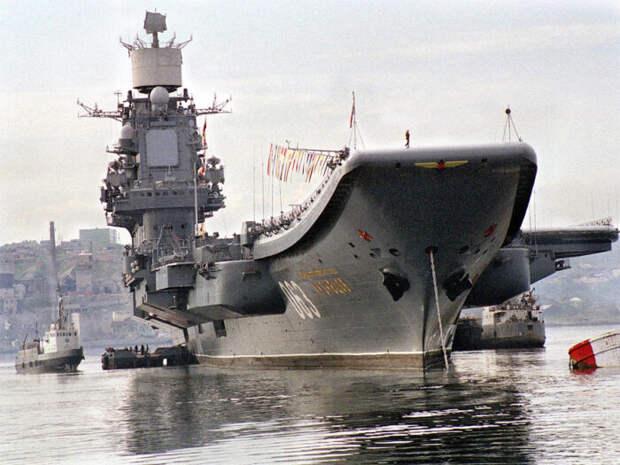 Sohu: КНР предложила помощь России встроительстве авианосного флота