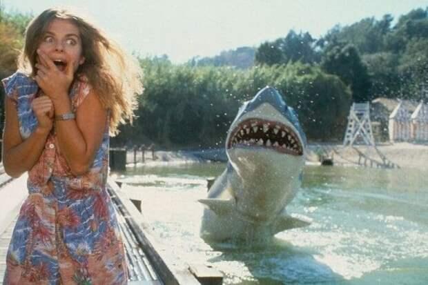 Актриса Настасья Кински в парке развлечений киностудии Universal, 1980 г.