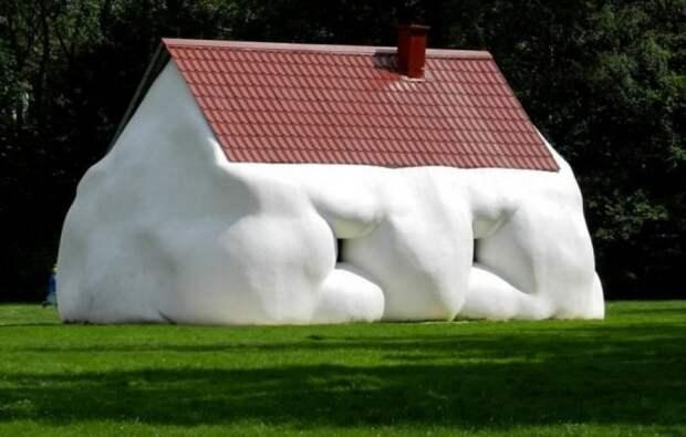 Примеры очень странных архитектурных «шедевров»