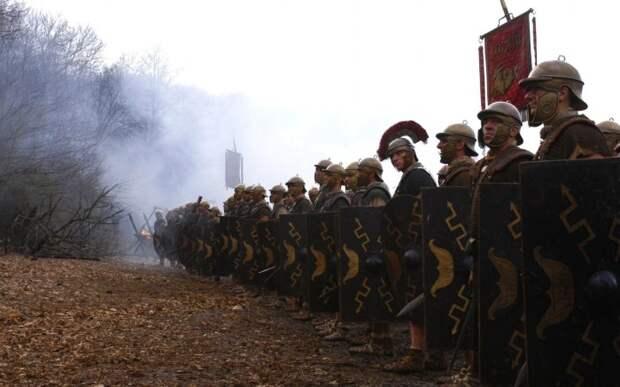 На легионерах было много одежды.|Фото: getwallpapers.com.