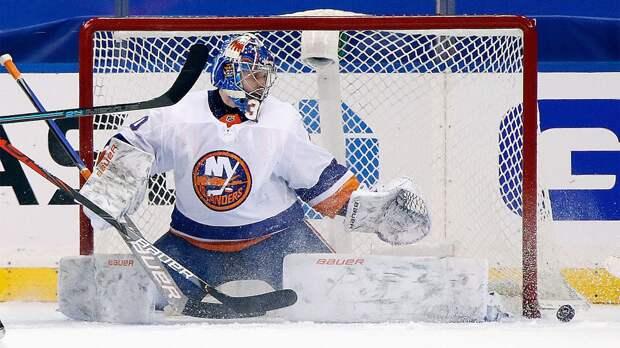 Сорокин — первый голкипер в истории «Айлендерс», выигравший все три стартовых матча в плей-офф НХЛ