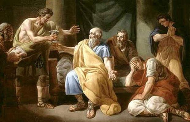 Какие любопытные истории о великом философе Сократе рассказывают знаменитые произведения искусства