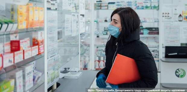 Собянин расширил список бесплатных лекарств для больных COVID-19. Фото: пресс-служба Департамента труда и социальной защиты населения