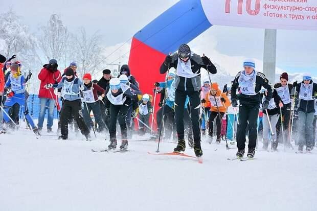 Жителей и туристов приглашают на гонку «Лыжня Кубани-2021»