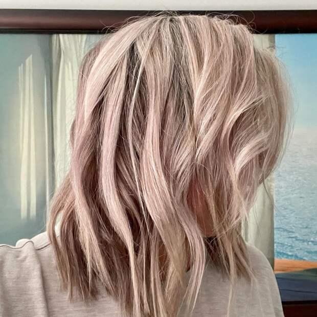 13 стрижек для леди старше 50 лет на разную длину волос для редких волос 2021