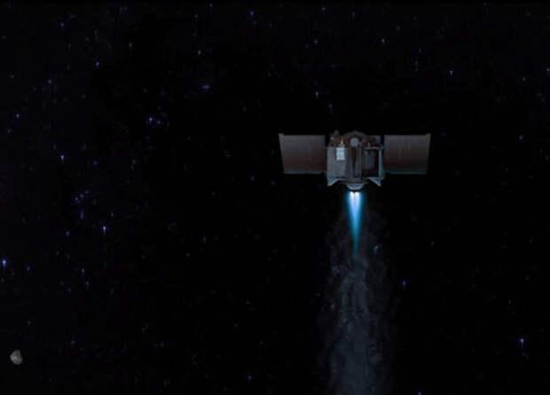 OSIRIS-REx покинул астероид Бенну и отправился к Земле