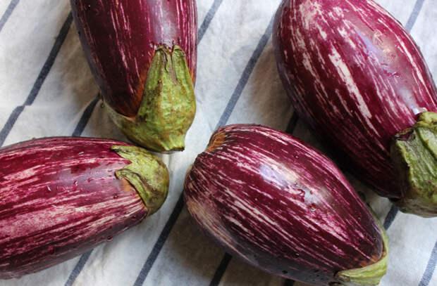 6 самых вкусных сортов баклажан