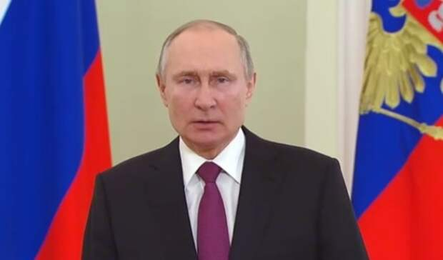 Владимир Путин обратился сПосланием Федеральному Собранию