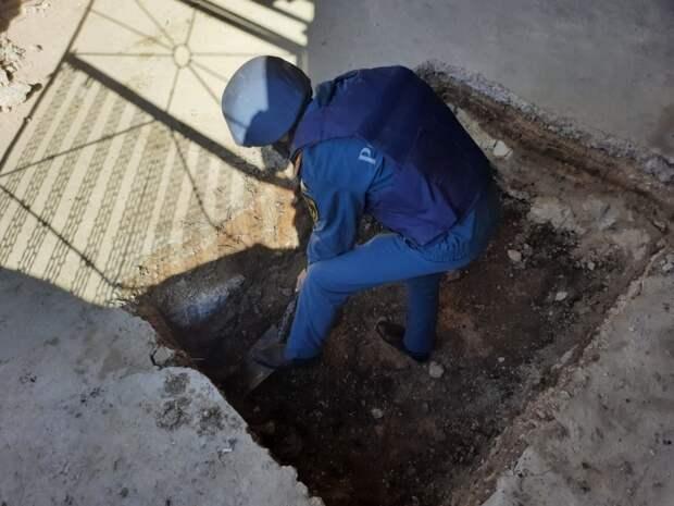 В Керчи обезвредили бомбу времен ВОВ